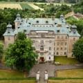 Zamek w Rydzynie.Widok z drona. Fot. Jan Krzyśko